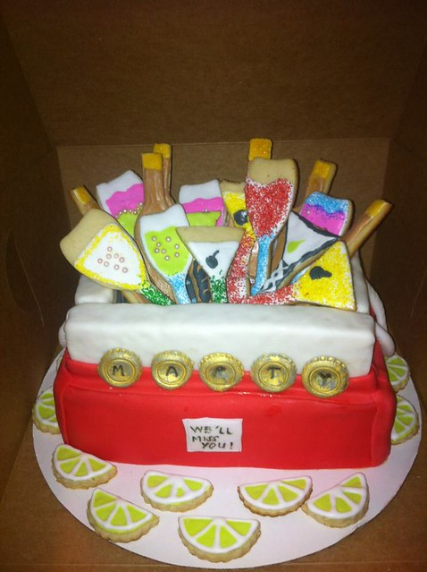 Beer Cooler Cake http://www.flickr.com/photos/lizzycakes671/7475133666/