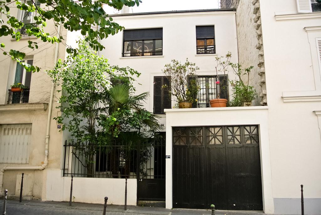 Maison de la rue du Moulin Vert