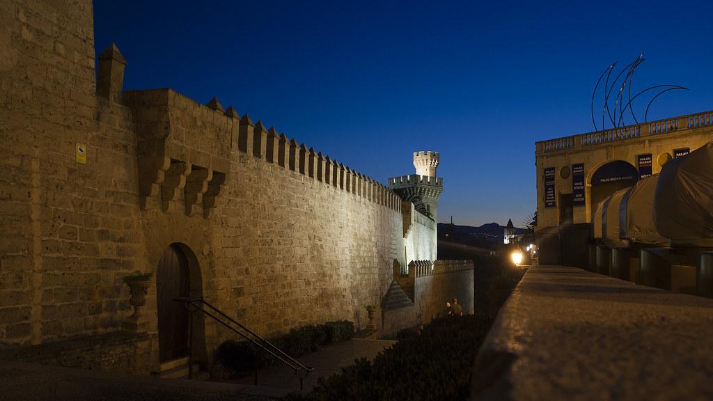 Castle Palau de l'Almudaina - Palma de Mallorca - Balearic Islands