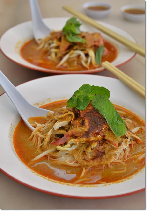Dry Curry Mee @ Sun Seng Fatt, Ipoh Old Town