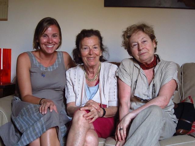 Claudia, Gabriella, Valeria