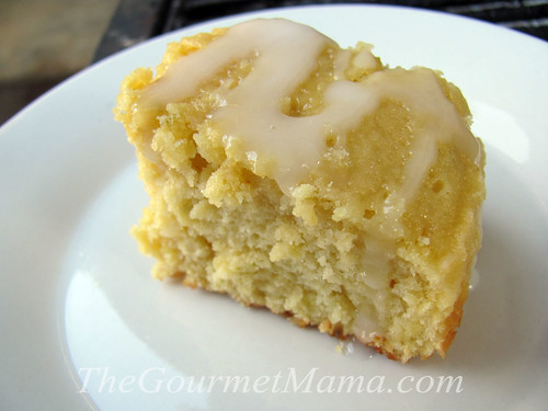 Ginger-Mango Coffee Cake
