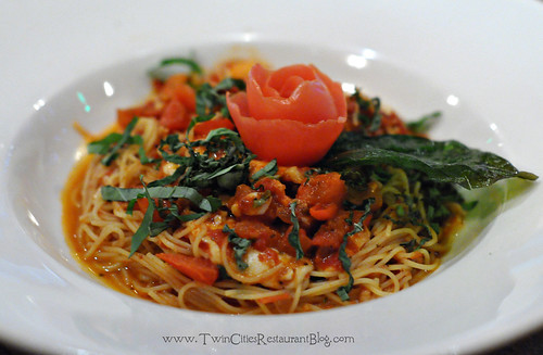 Angelhair Pasta at Union Hotel Restaurant ~ Santa Rosa, CA