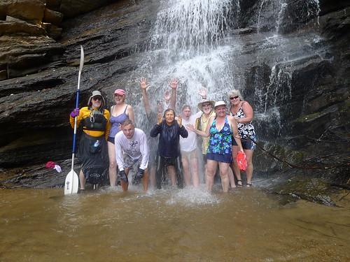 Greenville Kayak Meetup at Mill Creek Falls