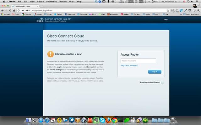 Cisco Connect Cloud - Internet Down
