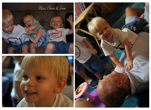 Max, Clara & Sam