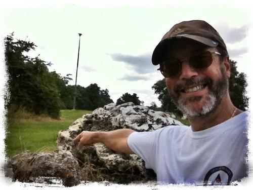 Shale boulders