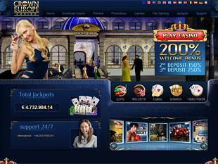 Crown Europe Casino Home