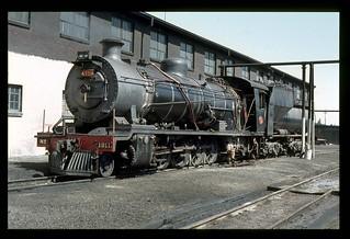 064f. 1980-12. De Aar Depot. Class 14A 1911 AIDA - SAR.