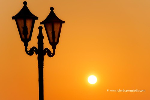 Syvota lamp post