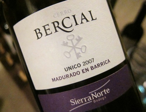 2008 Bercial Unico wine