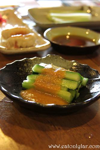 Wafu Kyuri Salad, Ikuzo Ramen