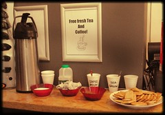 Free Tea and Coffee