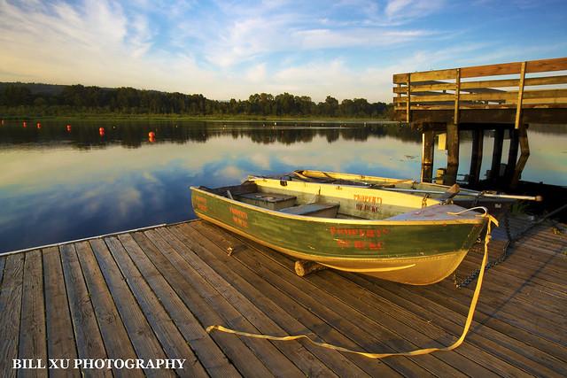 Sunset at Burnaby Lake