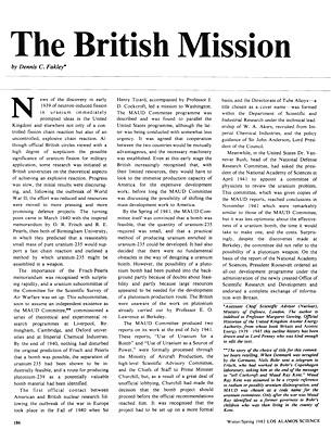 The British Mission
