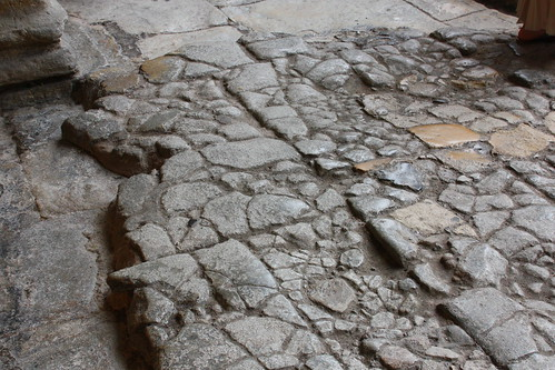 Layers of Roman Paving