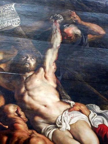 Peter Paul Rubens, Elevation of the Cross, detail