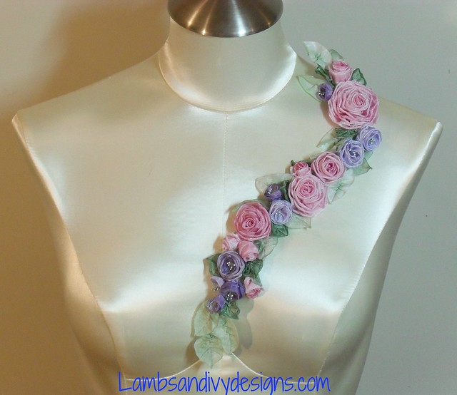 Ribbon Work Designs http://www.flickr.com/photos/lambsandivydesigns/7619819462/
