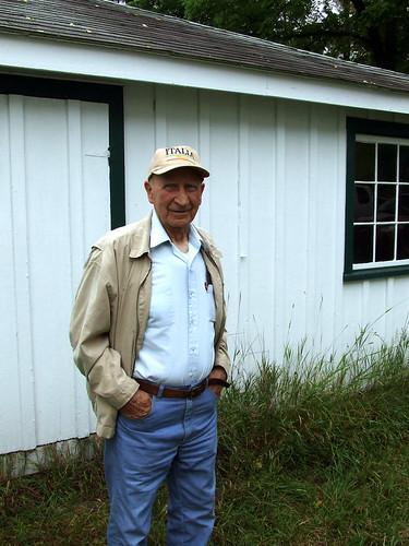 Martin Hardy in Plummer's Hollow, 2012 (1)