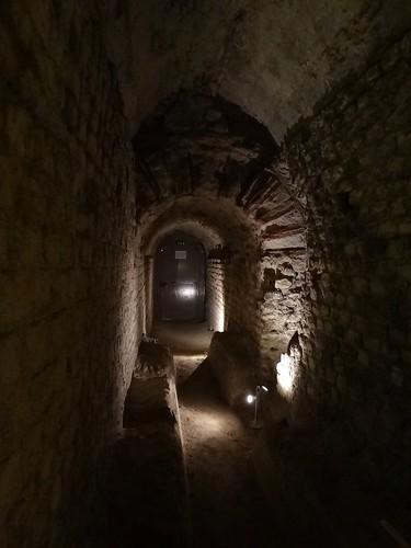Égout - Sous-sol des thermes de Cluny - Paris