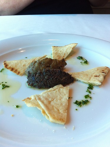 Norwegian Pearl - Eggplant Dip and Olive Tapenade