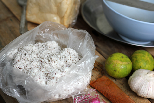 The key ingredient in shredded coconut