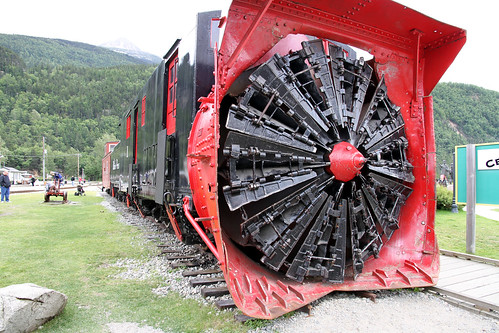 Skagway - Train Snowplow