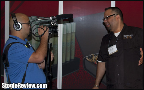 IPCPR 2012 - Abe Flores of PDR Cigars - 1