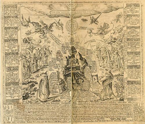 011- Primer grabado rectangular vertical-Amphitheatrvm sapientiae aeternae…-1609- Heinrich Khunrath