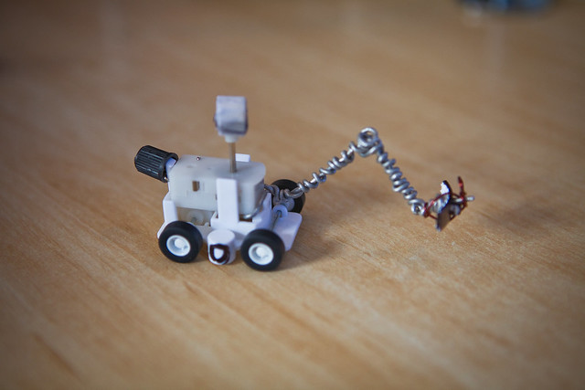Andrea's hacked Curiosity Mars Rover