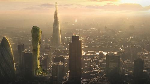 FSMA Tower - небоскреб из водорослей от Дэйва Эдвардса