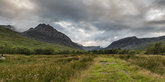 Tryfan and Pen yr Ole Wen