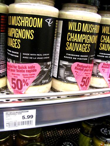 President's Choice Black Label Wild Mushroom Sauce