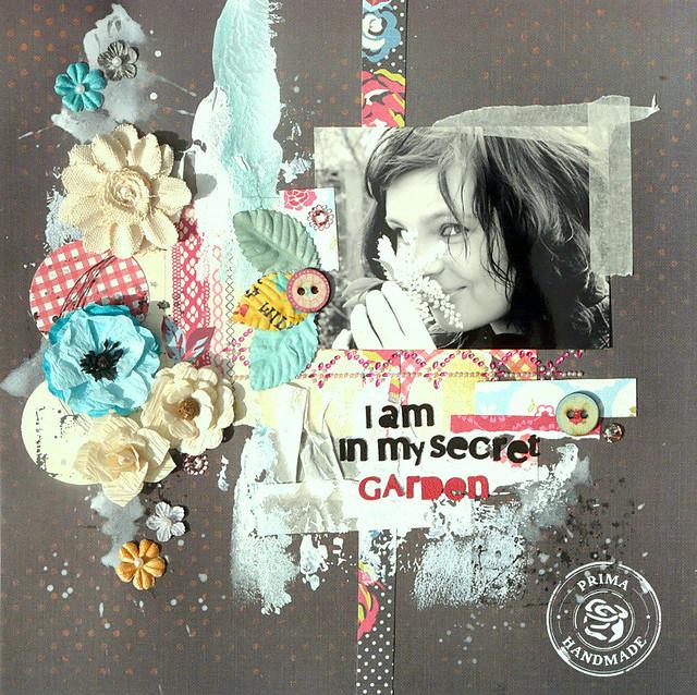 I am in my secret garden