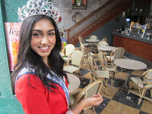 Megha Sandhu at The Distillery District