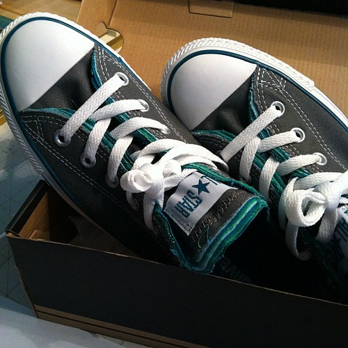My treat for the day... New Converse :)