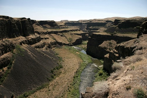 Coulee with the Palouse River