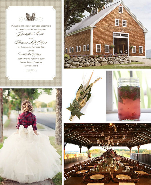 Down on the Farm: A Barn Wedding