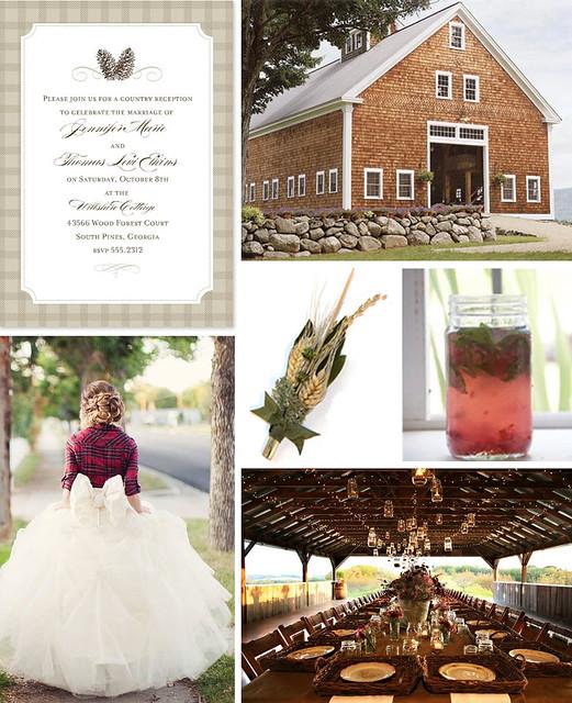 Down on the Farm: A Barn Wedding