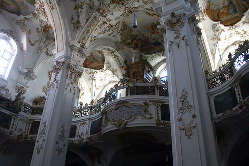 Empore Orgel - Kloster Andechs