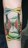 hour glass tattoo tattoo by John