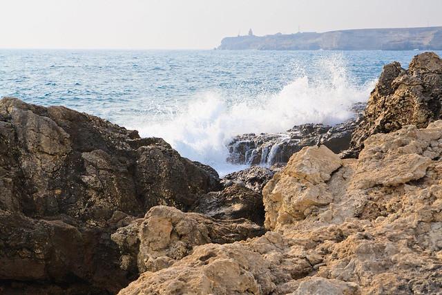 Tarkhankut shore