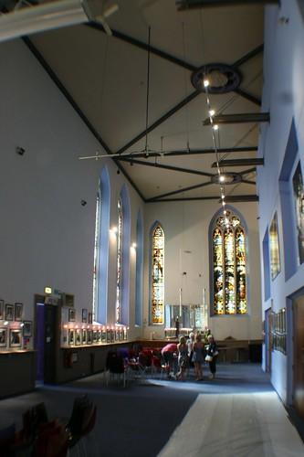 Inside Ramshorn Kirk