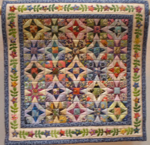 Second place in the Miniature Quilts Category