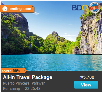 All-In Travel Package to Puerto Princesa Promo