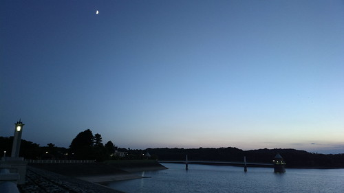 Twilight at Sayama lake