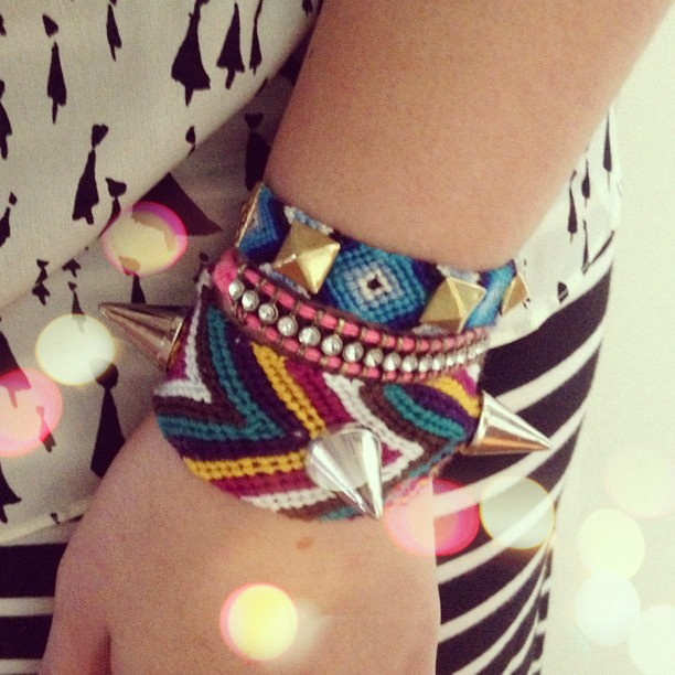 Today's stack - #armparty #diy