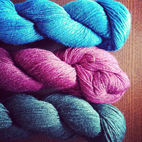 pretty KP yarn