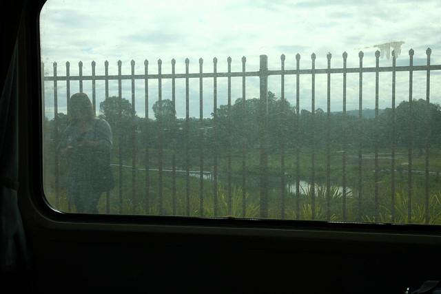 V/Line: dirty train windows
