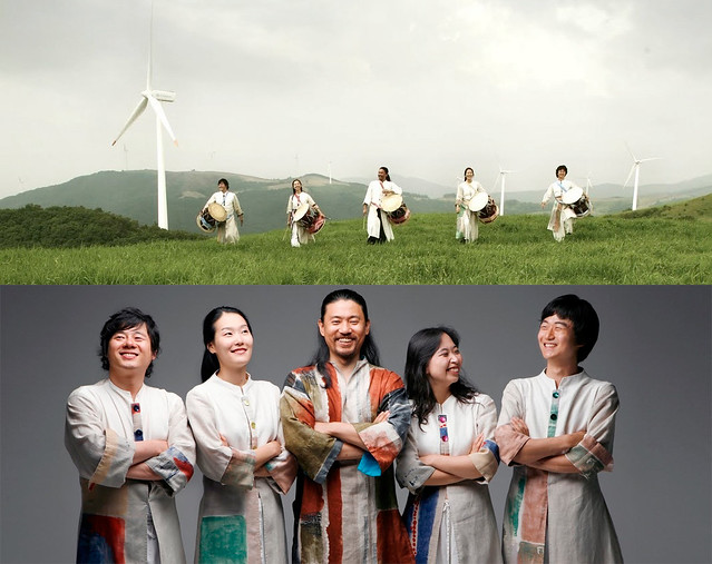 Drum ensemble Sonagi Project from Seoul, South Korea. Photos by YOKKO.